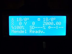 Best Way to Calibrate a 3d Printer : home screen