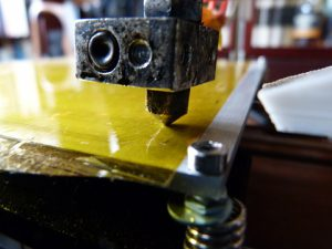 Best Way to Calibrate a 3d Printer : nozzle collision