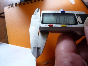 Best Way to Calibrate a 3d Printer : paper measure