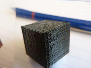 what is 3d printing technology: cube layers