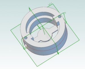 3d Printer Project Ideas: first part finished