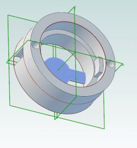 design ideas for 3d printing: finished cad piece