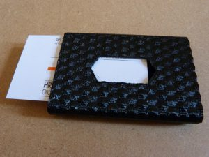 things to make with a 3d printer : business card holder