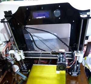 what is a 3d printer and how does it work: frame