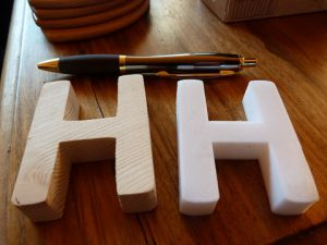 things to make with a 3d printer : lettering