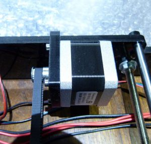 what is a 3d printer and how does it work: stepper motor