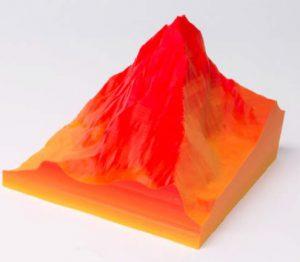 zmorph 3d printer blended print