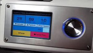 monoprice select mini 3d printer: screen