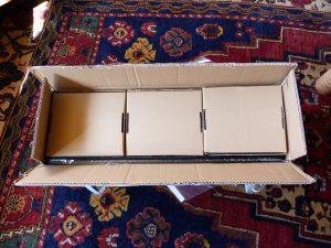 build your own 3d printer kit box open