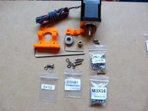 build your own 3d printer extruder parts