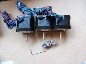build your own 3d printer timing gear parts