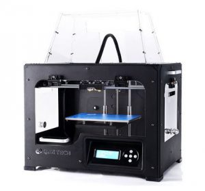 qidi tech 3d printer front view