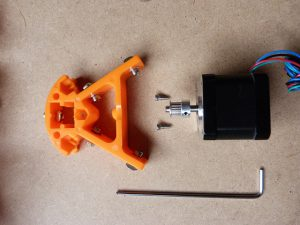 build your own 3d printer kit motor parts