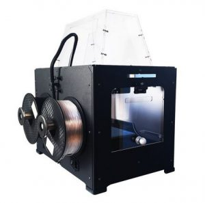 qidi tech 3d printer : rear view
