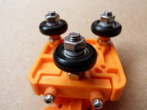 drive wheels with added spacers
