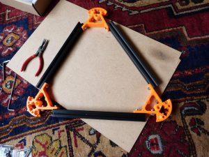 build your own 3d printer kit top frame