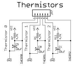 3d printer problems maxtemp thermistor circuit