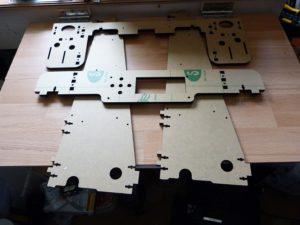 Anet A8 3d printer acrylic frame