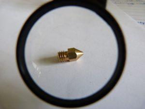 3d print nozzle - single