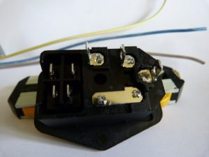 anet a8 power supply rear mains connector