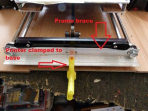 5 mods for the anet a8: frame brace