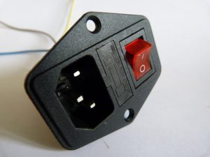 anet a8 power supply mains fused connector