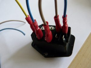 mains wired