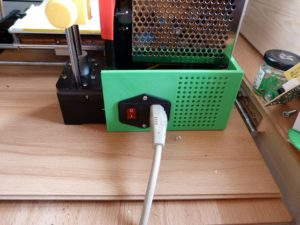anet a8 upgrades : mains switch