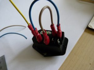 input and switch wired