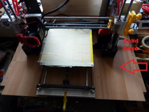 5 mods for the anet a8 : base board