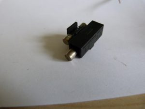 fuse holder with spare fuse