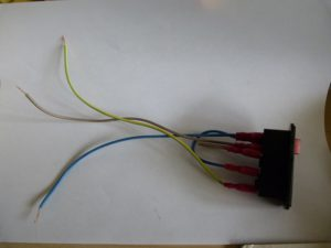wired up