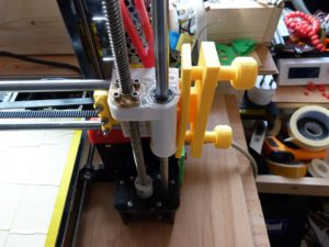 5 mods for the anet a8 : x belt tensioner