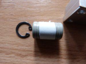 igus bearing with ptfe tape