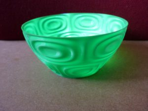 sslicer vase mode green bowl