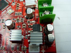 anet a8 bed mosfet
