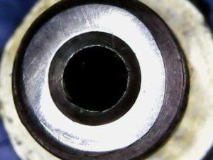 nozzle flattened