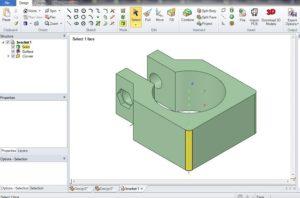 designspark mechanical opening screen