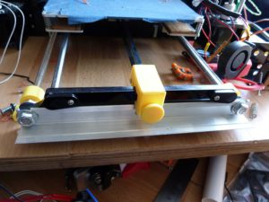 anet a8 screwed down