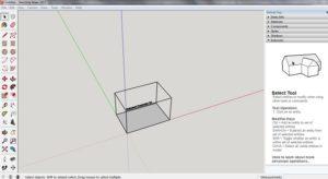 sketchup make with 3d printer
