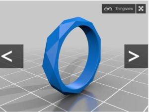faceted ring thingiverse