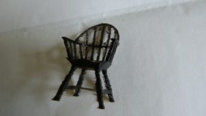 tpu chair cleaned up with scalpel