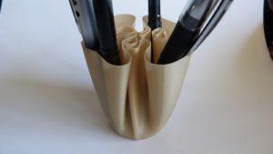 3d printed cloth vase